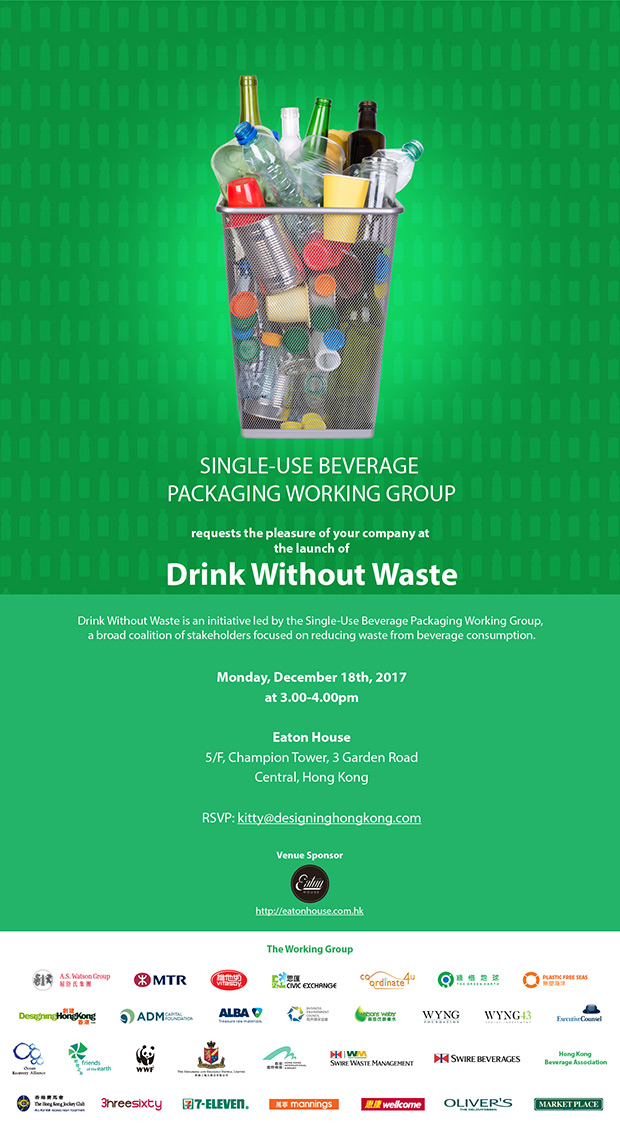 Drink Without Waste | Media News | 香港地球之友 Friends of the Earth