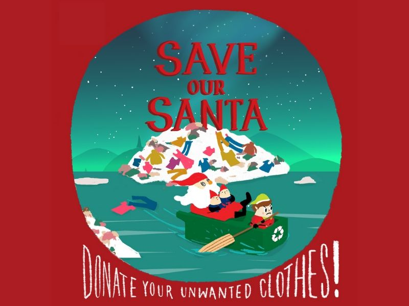 Clothes Recycle Drive - Save Our Santa