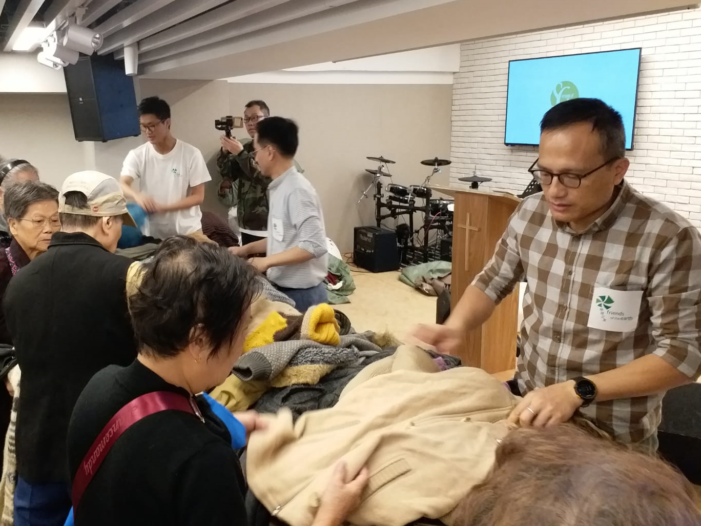 Clothes Donation: Christian Canaan Church Hong Kong - Fanling 2018