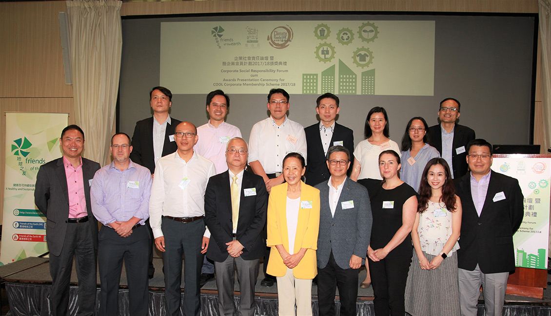 Friends of the Earth (HK) to Host Corporate Social