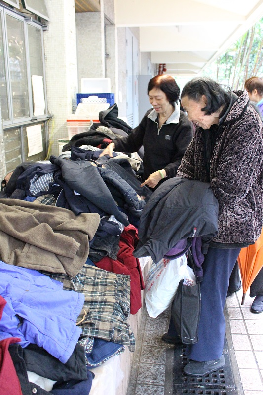 Clothes Donation: People Service Centre 2016